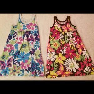 Set of Two Flower Dresses